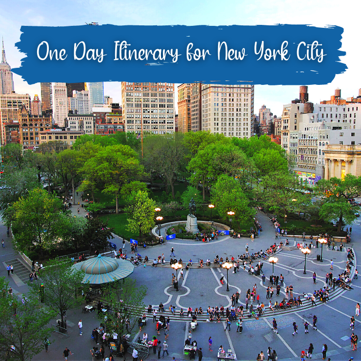 Best things to do in New York City in one day -- 24 hour NYC itinerary by a New Yorker