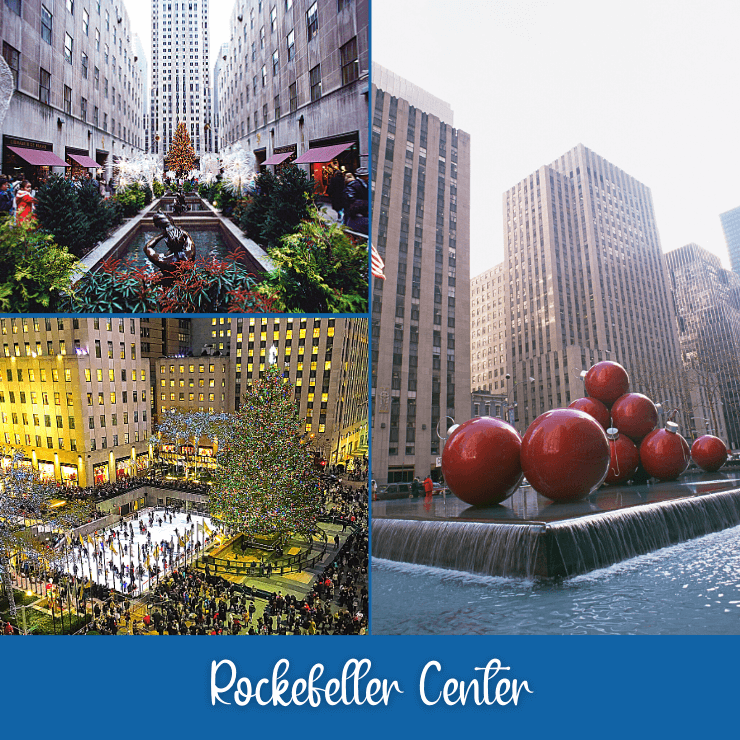 There is so much to do at Rockefeller Center! It's a top thing to do during a trip to New York City.