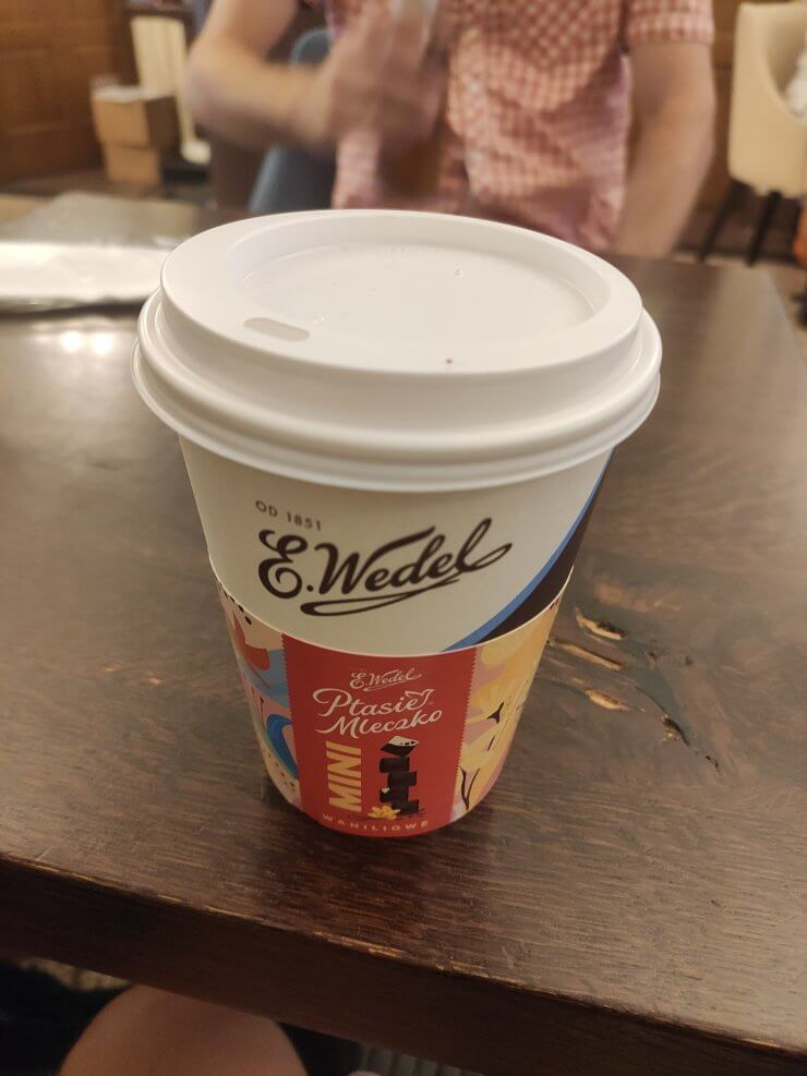 Hot Chocolate from Cafe E. Wedel