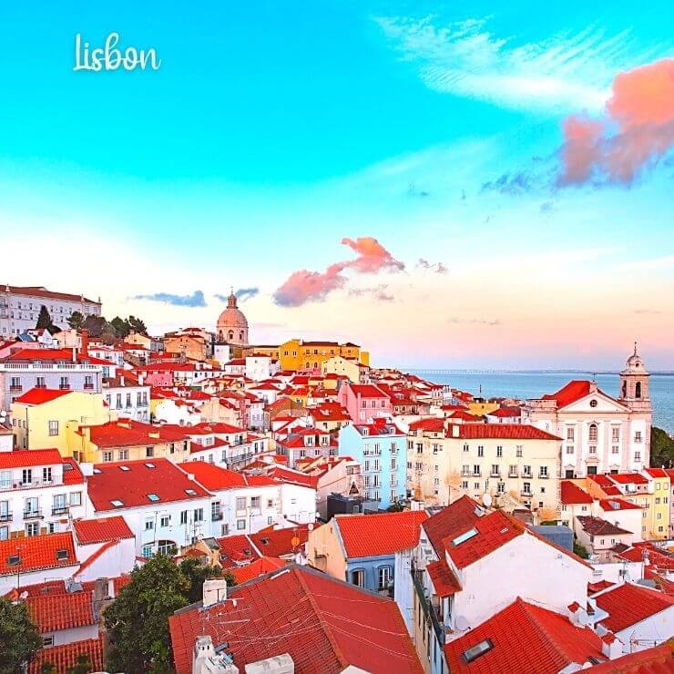 Cruise to Spain and Portugal and choose an itinerary that lets you walk around beautiful Lisbon, Portugal.