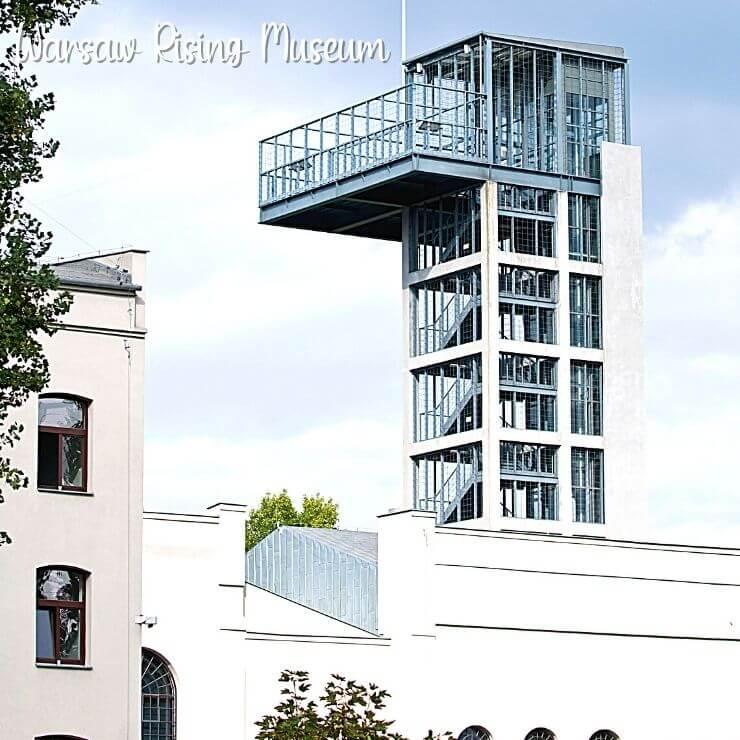 Warsaw Rising Museum Exterior