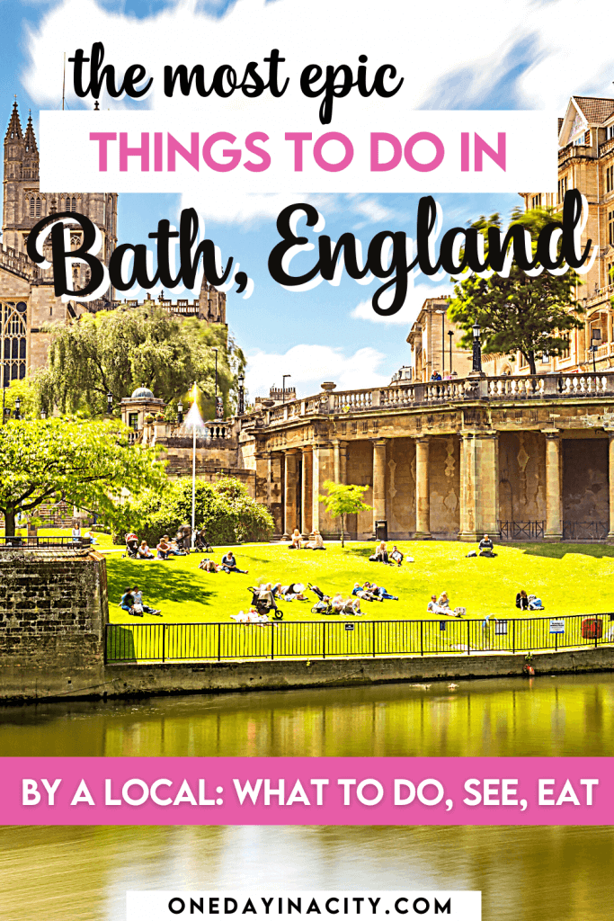Bath, England is one of the best cities to visit in the whole of the United Kingdom and is a great day trip from London, or as its own overnight 24-hour getaway.