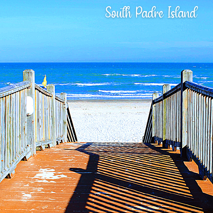 The beautiful sandy beaches of South Padre Island are ideal for a girls trip in Texas.