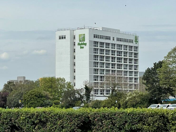 Holiday Inn Southampton is a budget friendly place to stay in Southampton that is in the city center and near the cruise terminal.