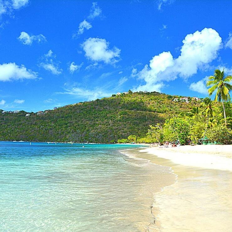 Beautiful Magens Bay is a top thing to see when visiting St. Thomas on a cruise or other vacation.