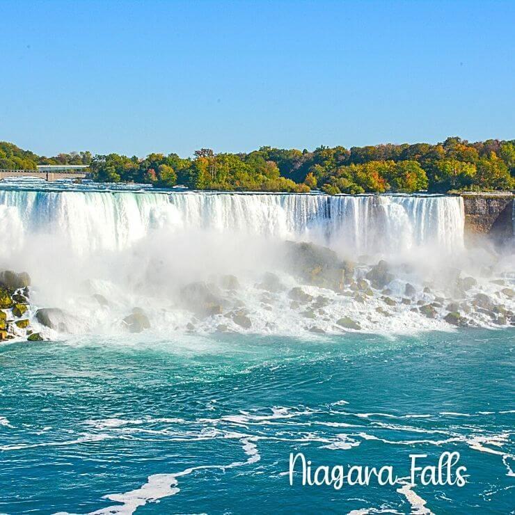 Niagara Falls in upstate NY