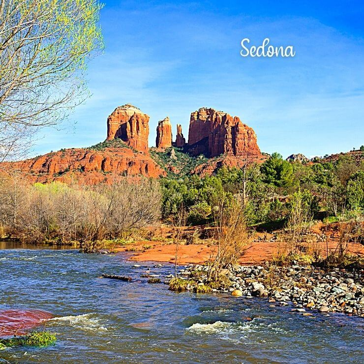 Sedona, Arizona is a great girls getaway for friends who like beautiful scenery and activities in nature.
