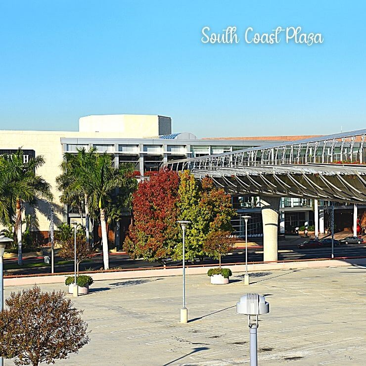 Shopping at South Coast Plaza is one of the top things to do in Costa Mesa, California