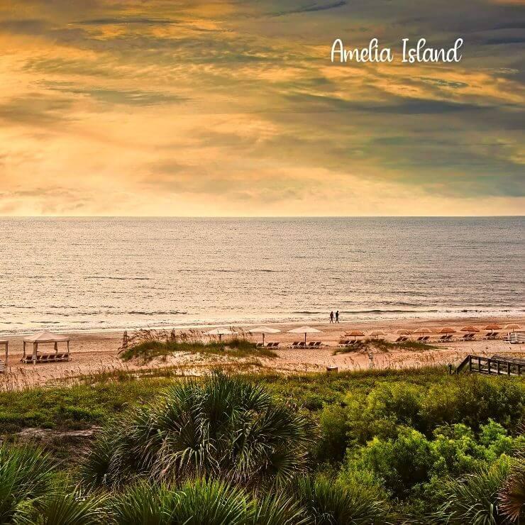 Amelia Island is a great beachy getaway in Florida