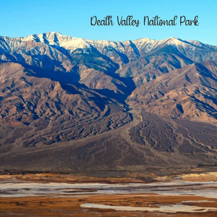Death Valley National Park is best visited during the winter months.