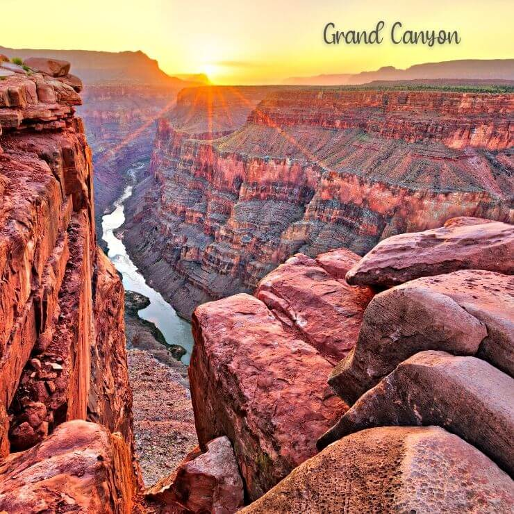 Grand Canyon is an incredible day trip from Phoenix