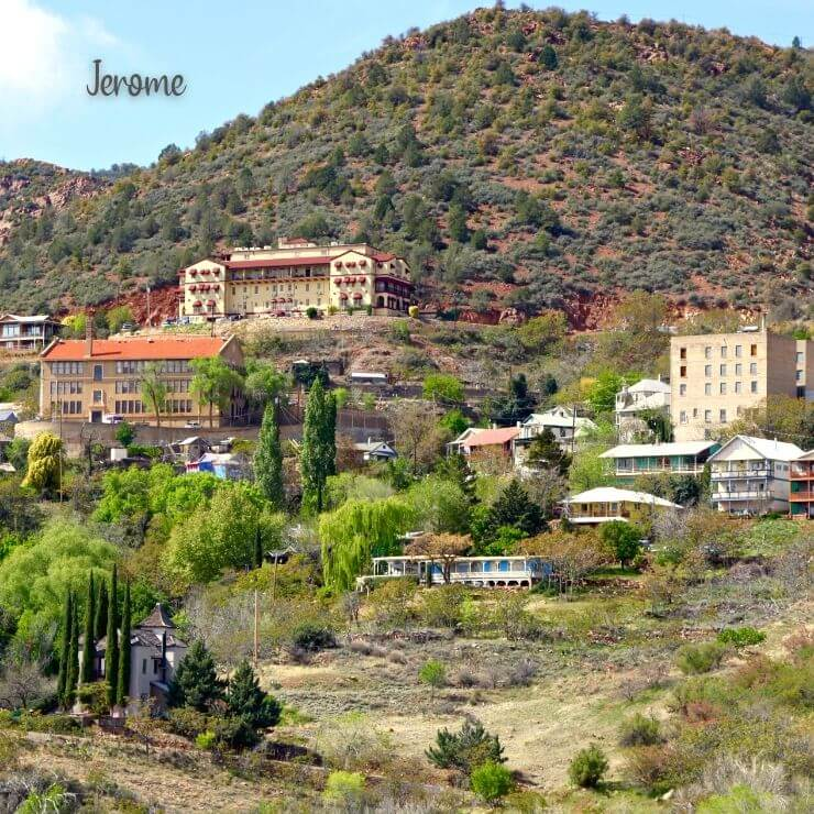 Jerome ghost town is an interesting day trip from Phoenix.