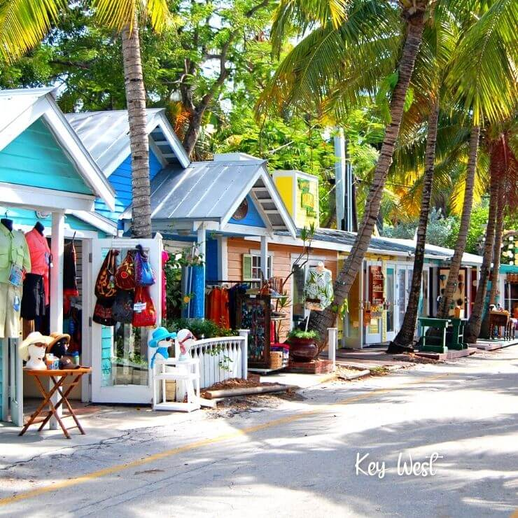 Great shopping in Key West for a girls weekend in Florida.