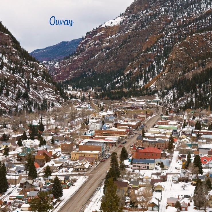 Ouray, Colorado is one of the best winter trips in the US.