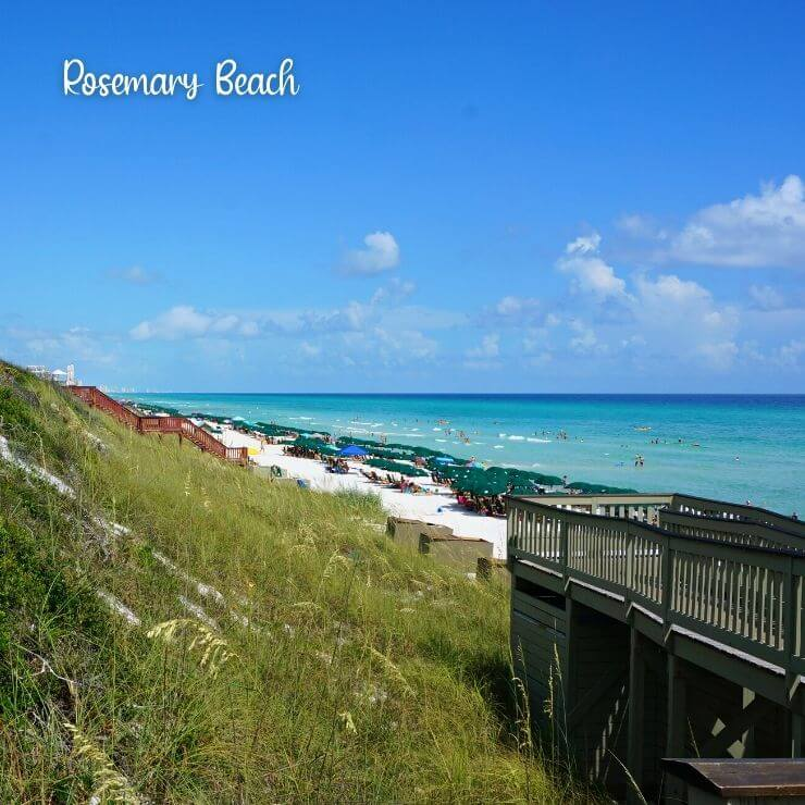Rosemary Beach is a great spot for a weekend getaway in Florida.