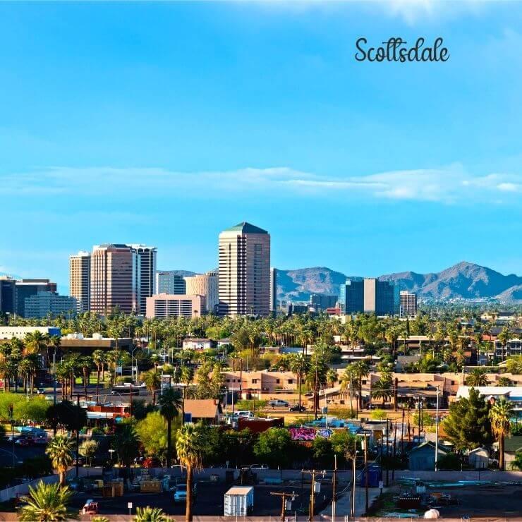 Warm weather getaway, Scottsdale, Arizona