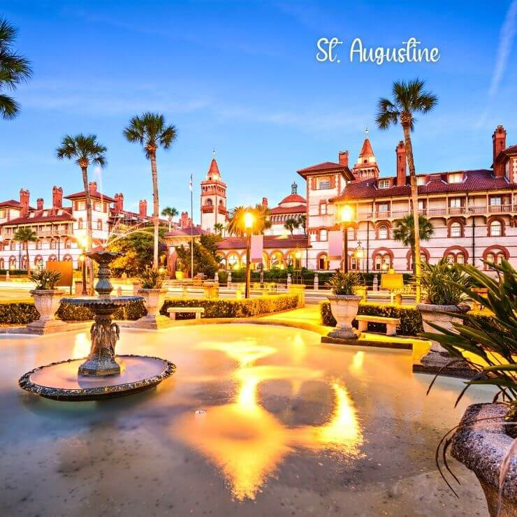Florida girls getaway in historic St. Augustine.